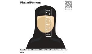 Krika Hasna Pleated Pattern