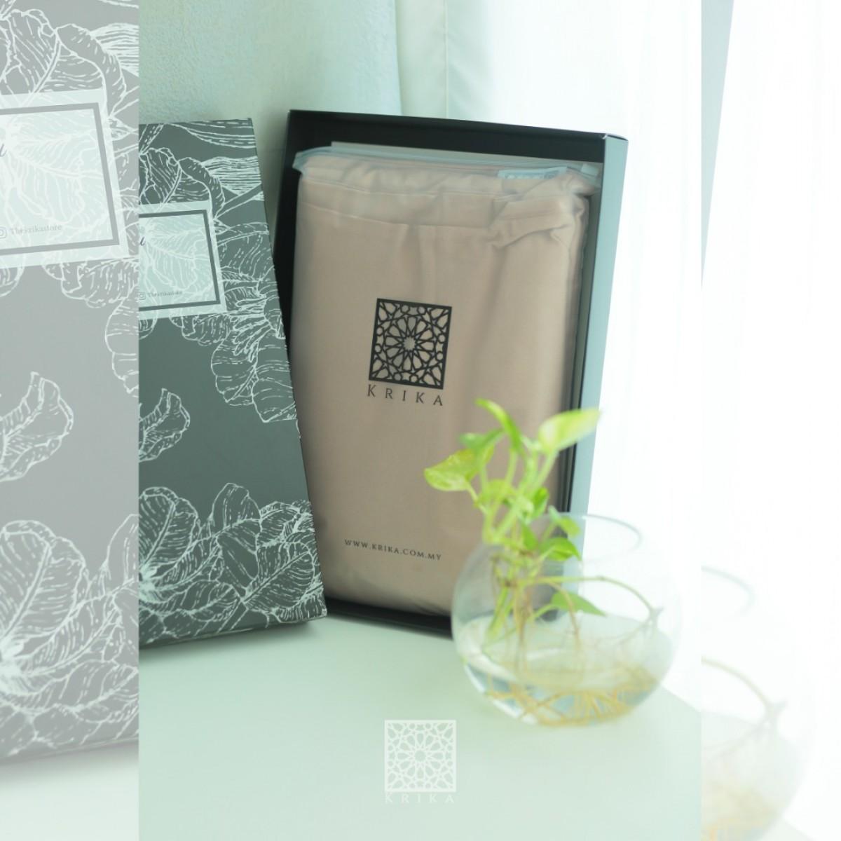 Telekung Krika Basic Cocoa