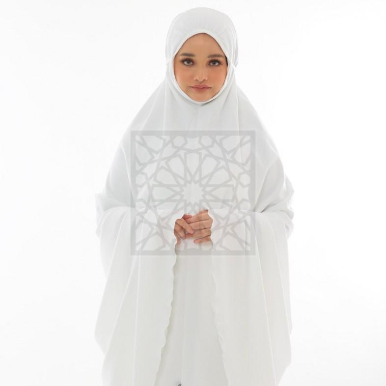 Krika Hasna Off-White Classic Cut