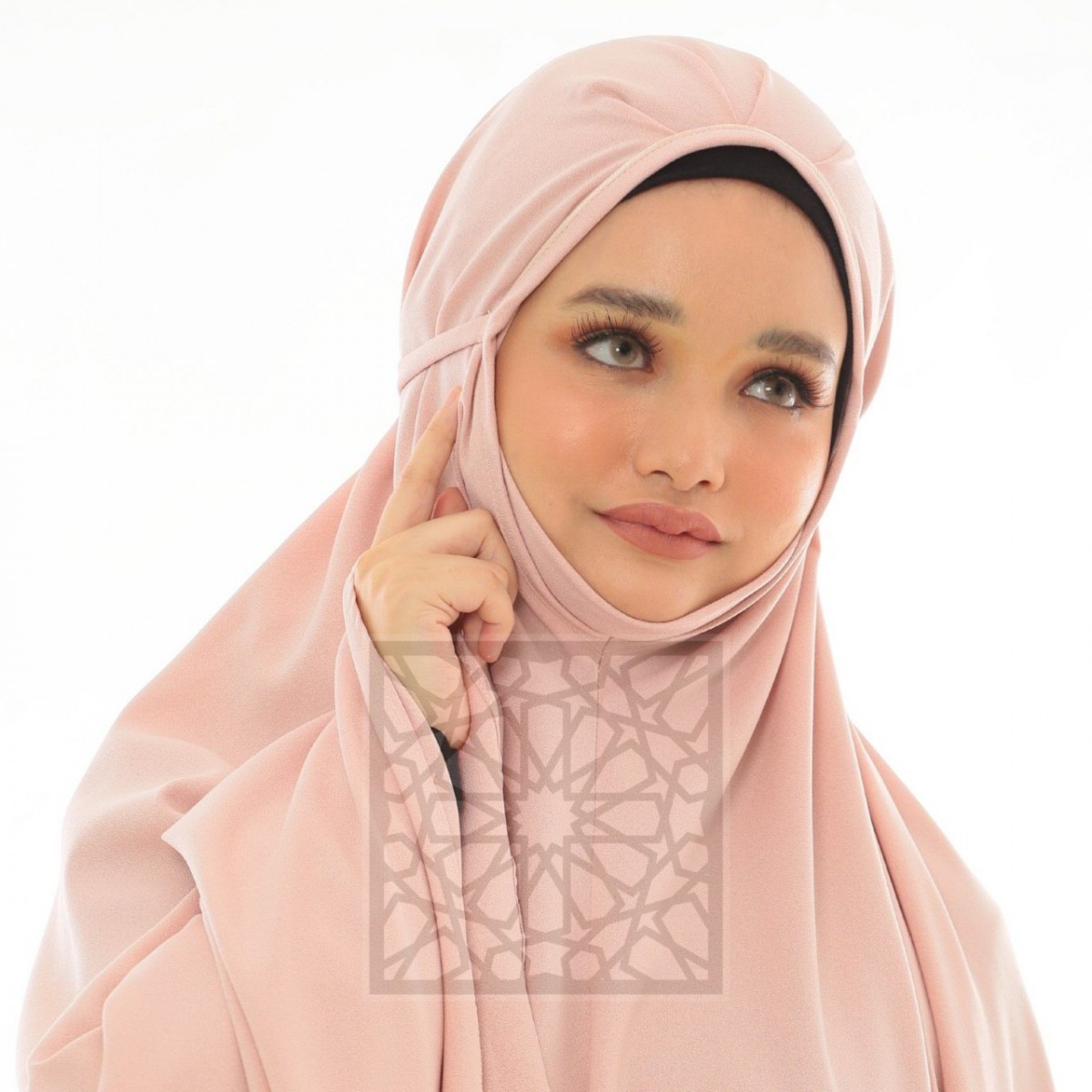 Krika Hasna Pink Lemonade Pleated