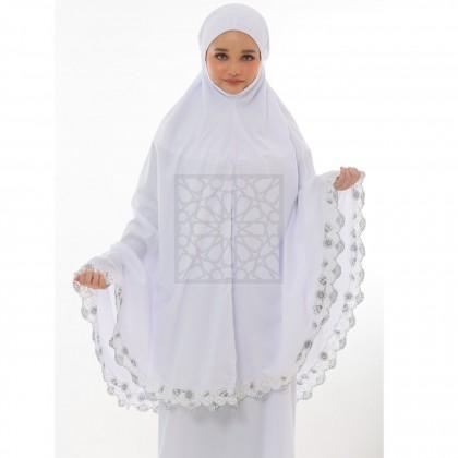 TravelMate Al-Baraqah Sulam Cotton (Black)