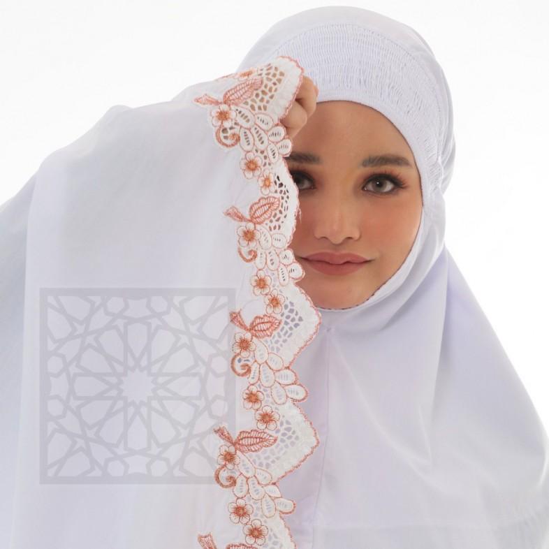 TravelMate Al-Baraqah Sulam Cotton (Red)