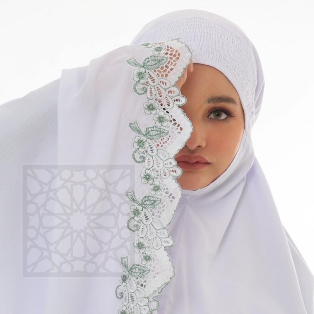 TravelMate Al-Baraqah Sulam Cotton (Green)